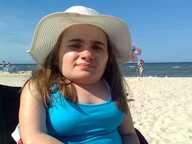 Zdjęcie na plaży.