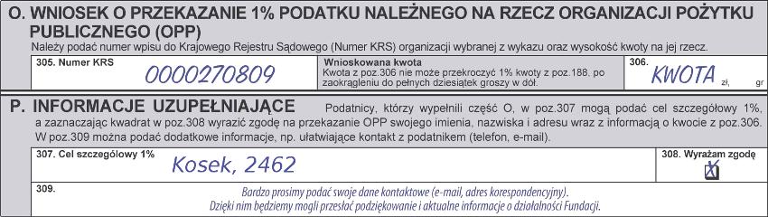 wzór wypełnienia formularza PIT